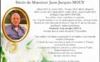 Décès de Monsieur Jean-Jacques Moux