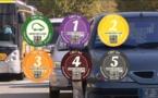 Pollution: à Grenoble, les vignettes déjà en vigueur et les vieilles voitures à l'arrêt