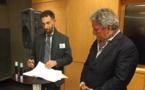 Projet d'île flottante : Jean-Christophe Buissou signe un accord avec le Seasteading Institute pour des études
