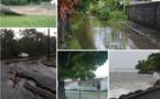 Ecoles fermées, toitures envolées, routes détériorées, le mauvais temps a frappé fort