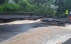 inondations à Taapuna : la route rouverte à la circulation