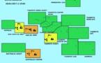 Fortes pluies sur les Îles du Vent et vents forts au Centre des Australes