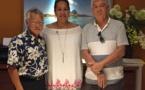 Deux membres du fonds paritaire de gestion en mission à Bora Bora