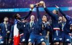 Mondial-2017 - Les Bleus célèbrent leur sixième étoile avec des questions
