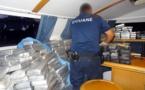 Saisie record de cocaïne en Polynésie française : les photos de la prise