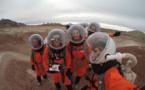 Objectif Mars: dans le désert, des étudiants miment les astronautes