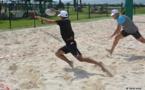 Journée beach rugby à Paofai