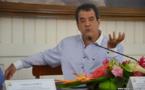 Fritch à Paris pour finaliser l'accord de Papeete