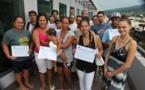 1ers Championnat du monde de Va'a-Marathon : Remise de diplôme pour les bénévoles