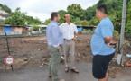 L'administrateur des Îles Du Vent poursuit ses visites de terrain