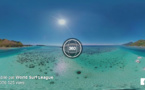 Le lagon de Moorea filmé à 360 degrés