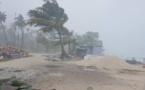 Le Nord des Tuamotu frappé par des vents forts et des pluies torrentielles