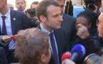 Colonisation: Macron accueilli par des manifestants pieds-noirs à Carpentras