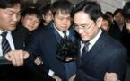 Le patron de l'empire Samsung placé en détention provisoire