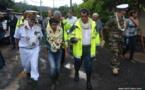 La ministre des Outre-mers à la rencontre des sinistrés de Pirae