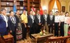 Visite d'une délégation de l'Aviation civile de Chine et du groupe AVIC