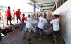 Intempéries : 11 461 kilos de dons de métropole sont arrivés