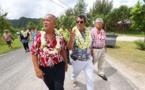 Le président était à Huahine ce vendredi