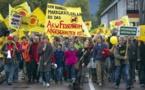 Strasbourg: 400 à 500 personnes défilent pour Fukushima et contre Fessenheim