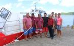 Bora Bora : le bateau-pompier est désormais opérationnel