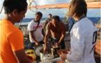 « Grâce à cette pirogue, les îles des Australes sont réunies aujourd'hui pour protéger notre océan».