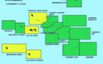 Vigilance jaune aux îles du Vent