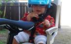 Page enfant : En France le casque est devenu obligatoire pour les – 12 ans sur un vélo