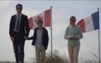 A Juno Beach (Normandie) Trudeau fustige les régimes nord-coréen et syrien