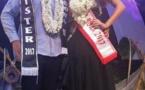 Hitirani Bardet et Raimanu Teara élus Miss et Mister Bora Bora 2017