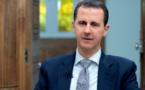 """Pour Assad, l'attaque chimique est une histoire """"montée"""" par l'Occident"""