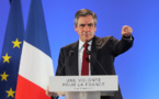 """Fillon aux électeurs de droite: """"s'ils votent Le Pen, ils auront Macron!"""""""