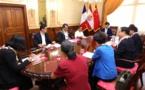 Fritch a reçu une délégation politique chinoise