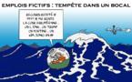 """"""" Les emplois fictifs """" par Munoz"""