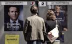 Présidentielle: Macron en forte baisse sur une semaine