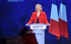 """Le Pen: """"retour à l'emploi"""" d'abord, """"retraite à 60 ans"""" ensuite"""