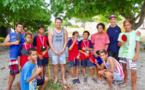 Des élèves de Makemo en compétition de ping-pong
