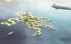 Les îles flottantes en conférence cette semaine