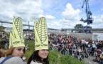 Marche anti-OGM: environ 2.000 participants à Lorient