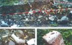 Gravats déversés à Taharuu: résultats positifs à l'amiante