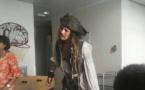 Johnny Depp à la rencontre des enfants hospitalisés