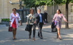 """Les parlementaires Tapura font leur """"rentrée"""" au Palais-Bourbon"""