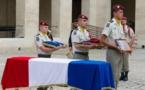 Hommage militaire à Paris pour le caporal Albéric Riveta