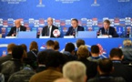 Fifa: Infantino félicite Cristiano Ronaldo et Messi