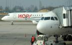 Premier jour de grève des pilotes de Hop!, des vols annulés