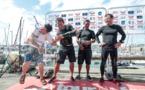Tour de France à la voile : Trésors de Tahiti prend la tête du général
