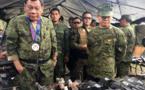 """Le président philippin Duterte n'ira pas aux Etats-Unis, un pays """"nul"""""""