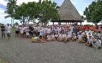300 bénévoles pour nettoyer les Jardins de Paofai et Toata