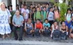 Cinquante enfants de Paea ont reçu leurs cartables ce jeudi