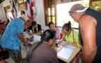 Conclusion de baux à ferme pour les locataires du lotissement Amo à Papara
