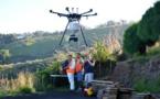 Manu attaque la petite fourmi de feu par drone